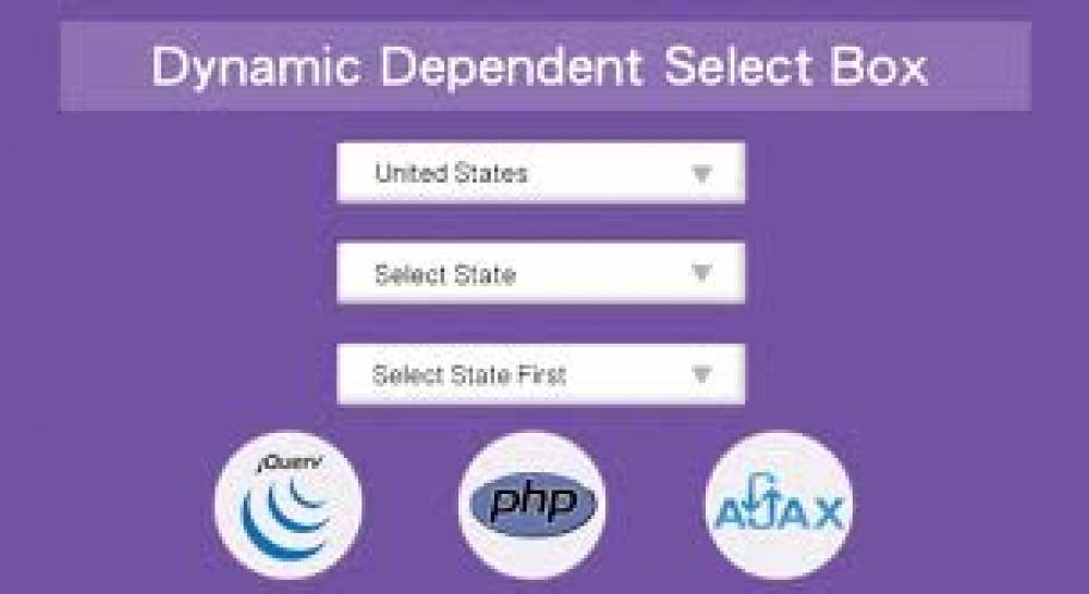 Ajax county select drop down using PHP and MySQL